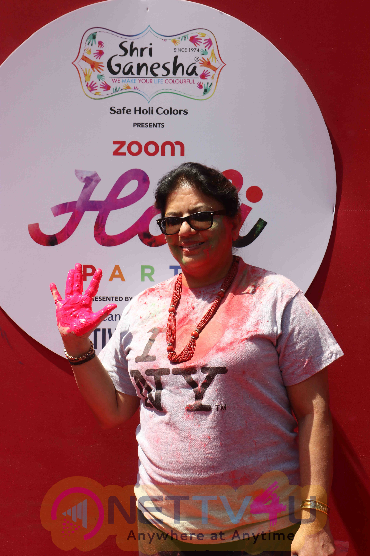 Bollywood Celebrities At Zoom Holi 2017 Celebrations Beautiful Pics