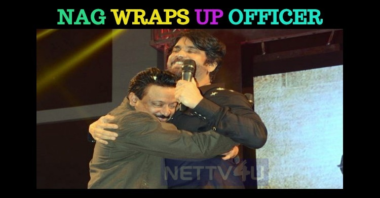 Nagarjuna Wraps Up His Part In Officer!