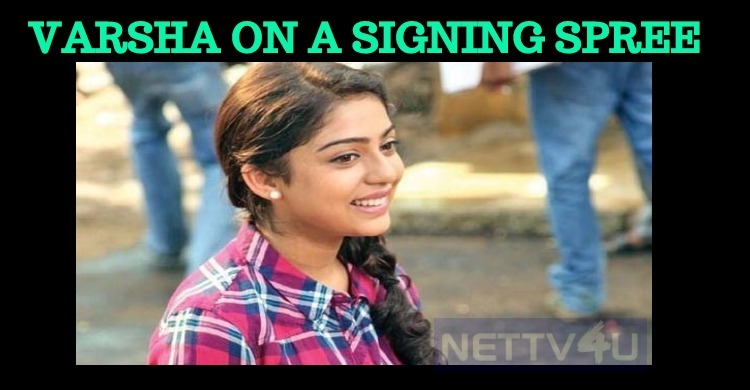 Varsha Bollamma On A Signing Spree!