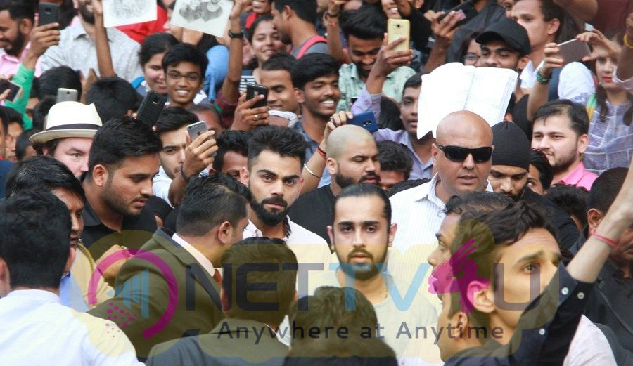 Virat Kohli At Opening Of New Boutique Tissot A Swiss Watch Brand In Mumbai Pics