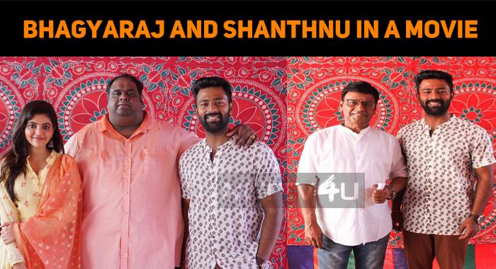 Bhagyaraj Shares The Screen Space With Shanthnu!
