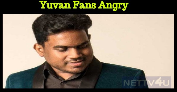 Yuvan Fans Against The National Award!