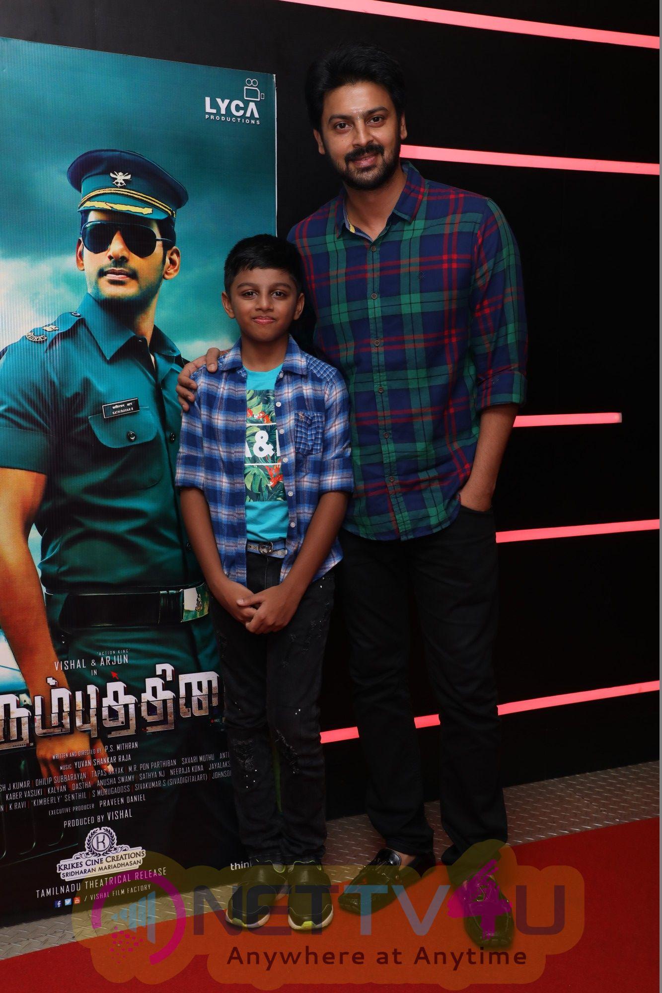 Irumbu Thirai Movie Special Celebrity Show Pics Tamil Gallery