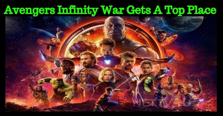 Avengers Infinity War Gets A Top Place In World..