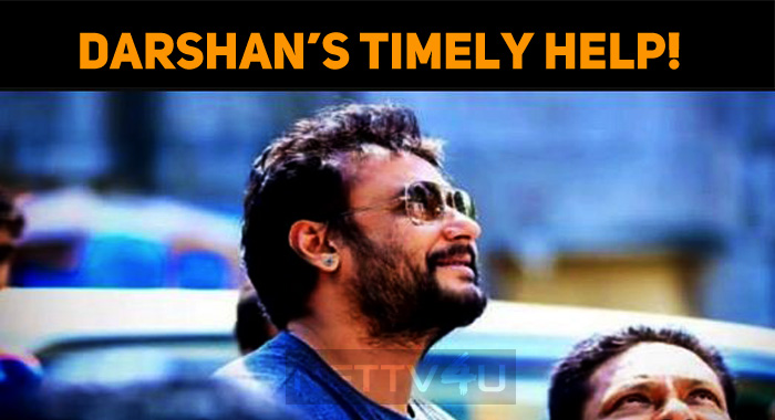 Darshan's Timely Help!