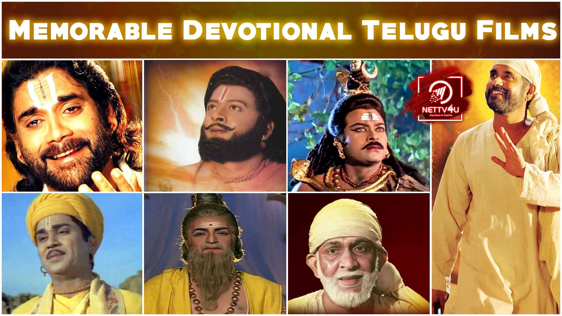 Memorable Devotional Telugu Films