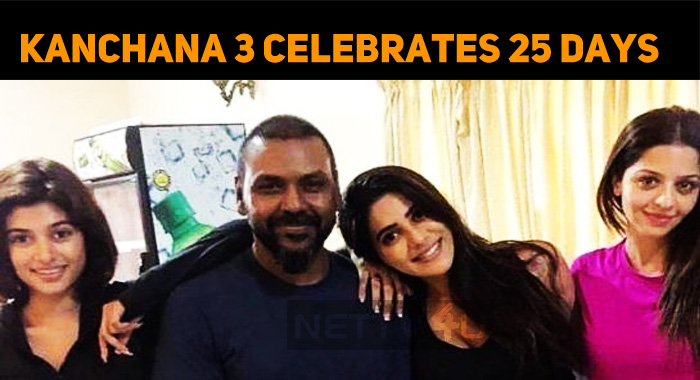 Raghava Lawrence's Kanchana 3 Successfully Cele..