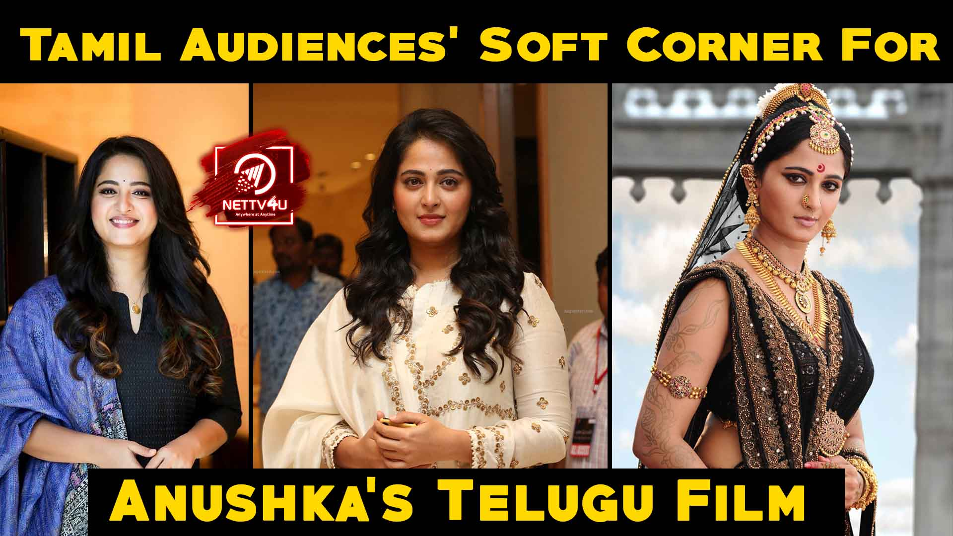 Tamil Audiences Soft Corner For Anushka's Telugu Films
