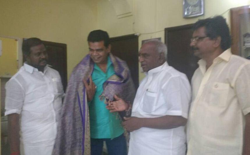 Villain Actor Ponnambalam Joined BJP!