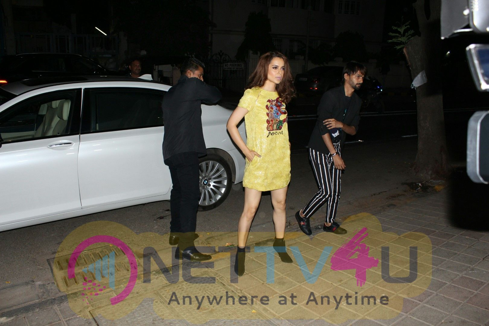 Kangana Ranaut Attends The Red Carpet Event Of Architectural Digest Of India Images