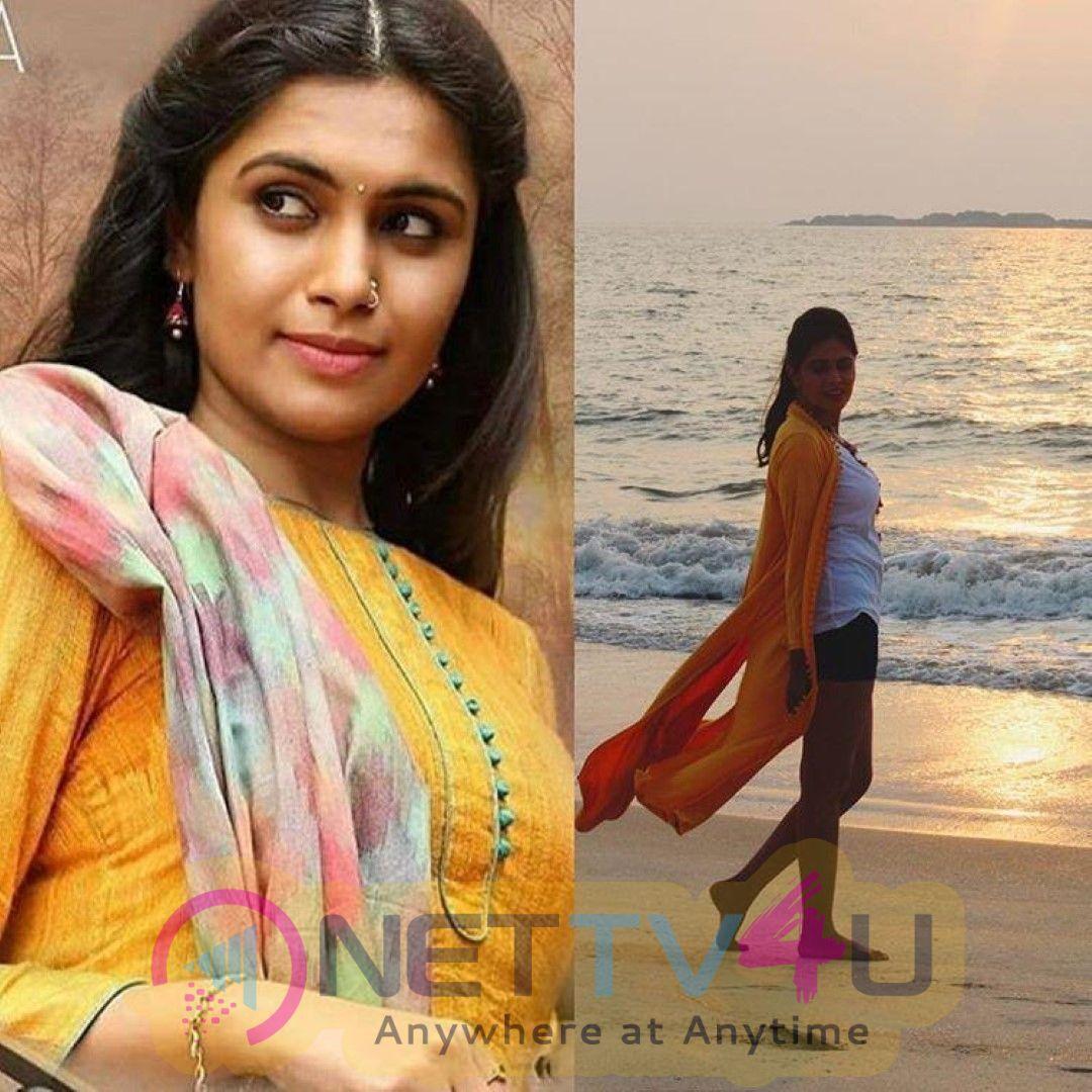 Sonu Gowda Most Romantic Stills Kannada Gallery
