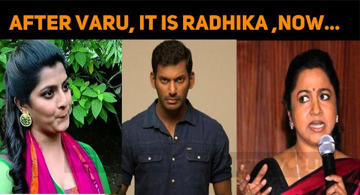 After Varalaxmi, It Is Radhika!