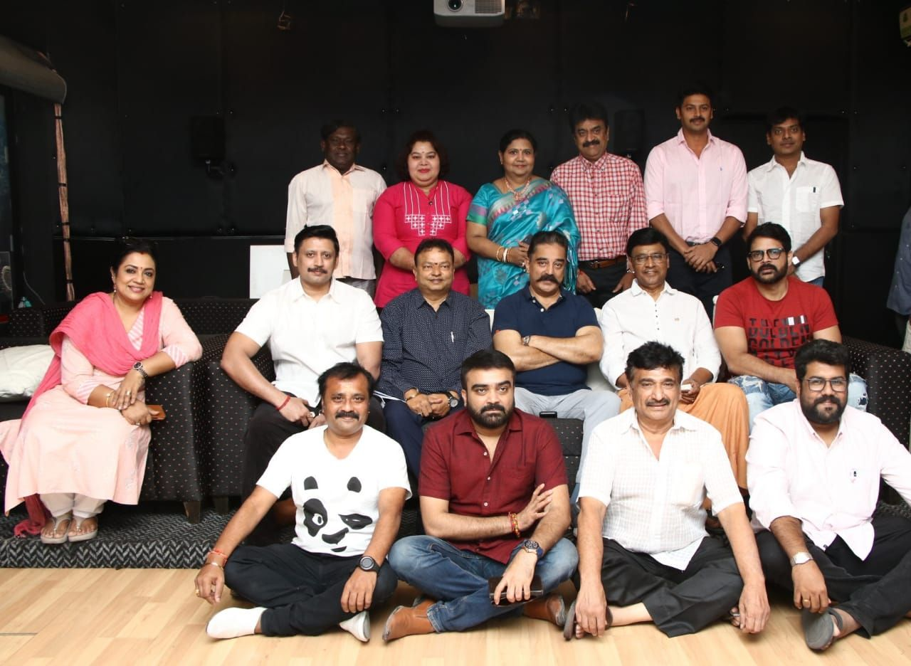 Nadigar Sangam Swamy Sankaradas Team Meets Kamal Haasan Pics Tamil Gallery