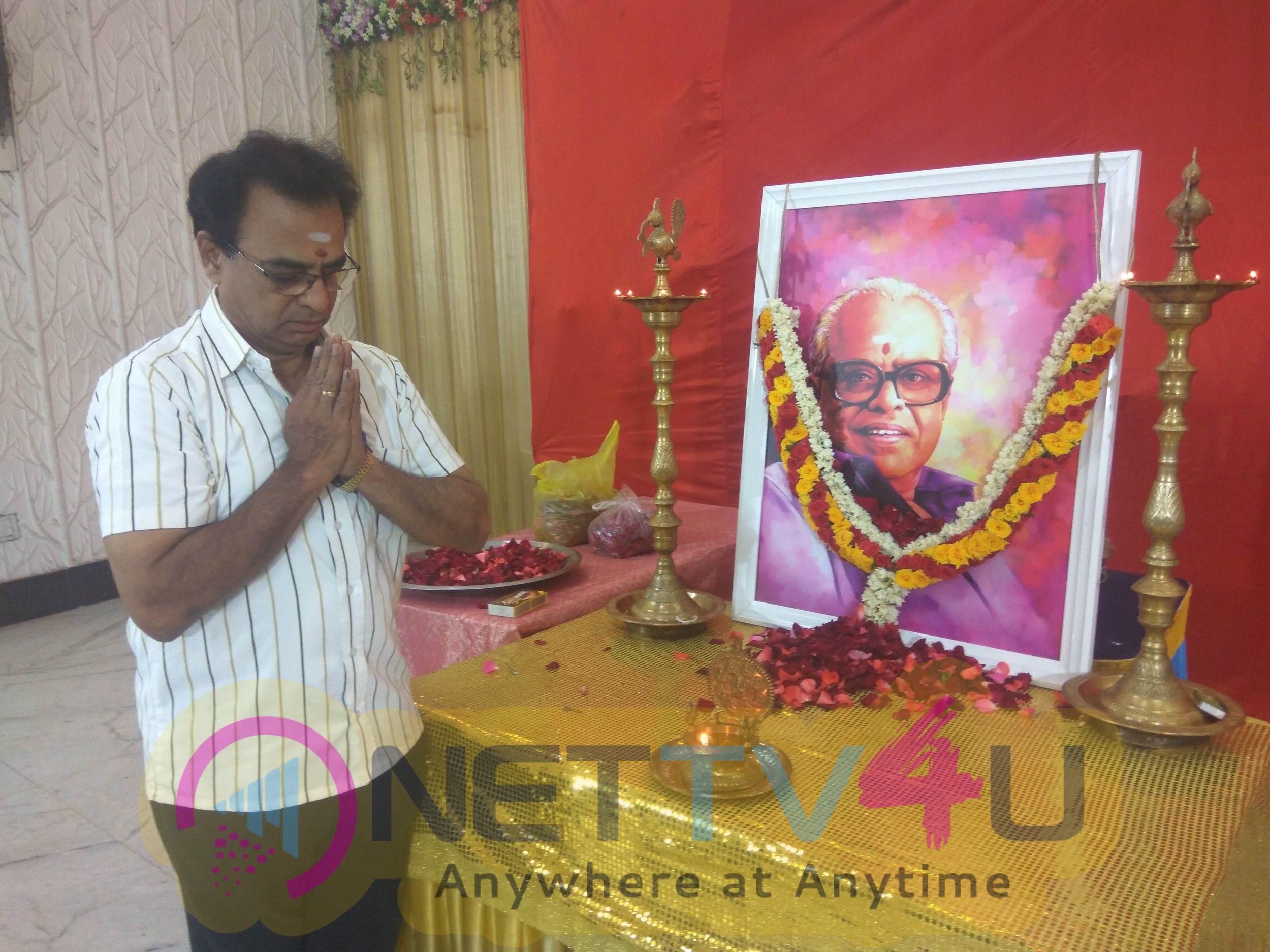 Celebrities At Iyakkunar Sigaram K.Balachander's 88th Birthday Images