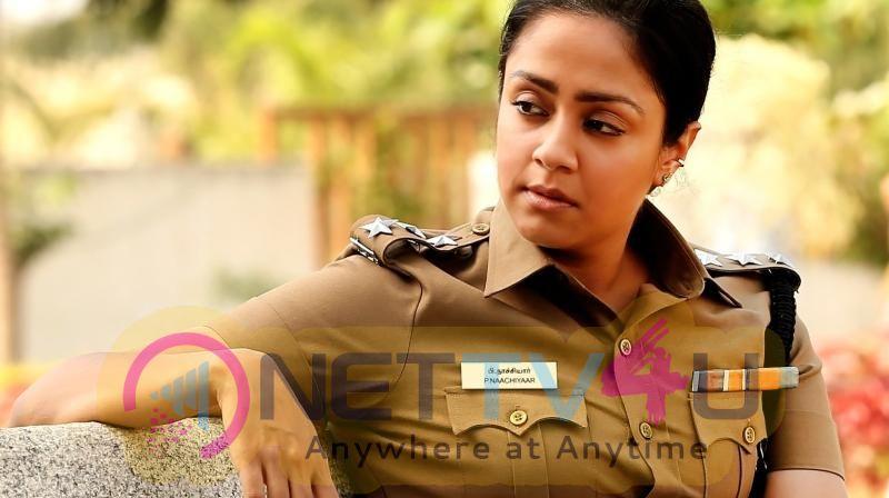 Jyothika Tamil Film Naachiyaar In Telugu As Jhansi Photos