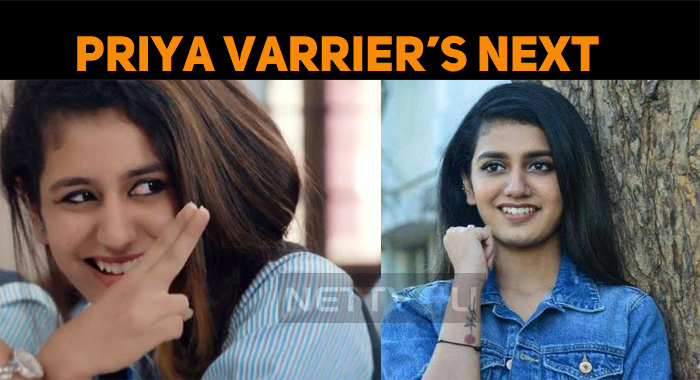 Priya Prakash's Next Is Interesting!