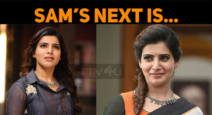 Samantha's Next With This Director!