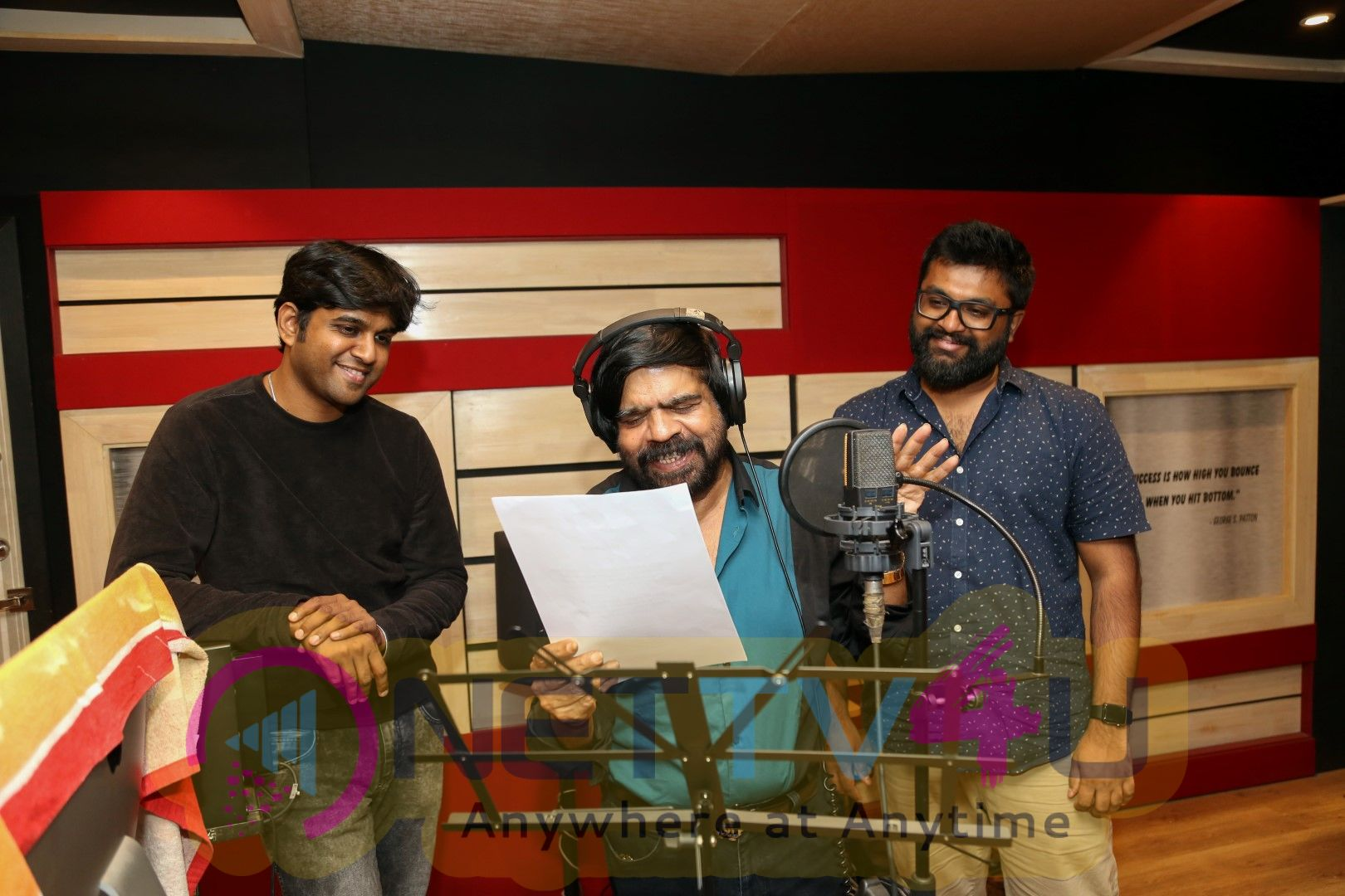 T.Rajendar & Kabilan Vairamuthu Join Hands For A Independent Song Images Tamil Gallery