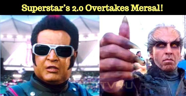 Superstar's 2.0 Overtakes Mersal! Tamil News