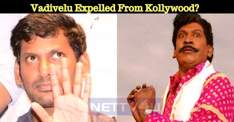 Vadivelu Expelled From Kollywood?