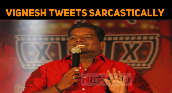 Vigneshkanth Tweets Sarcastically About Amit Sh..