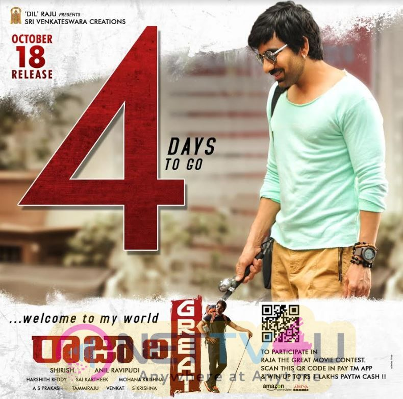 Raja The Great Movie 4 Days To Go Poster