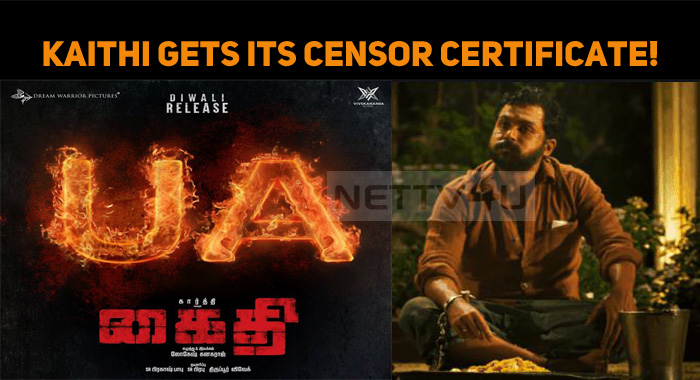 Kaithi Gets Its Censor Certificate!
