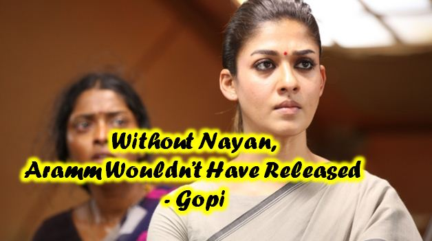Nayantara Didn't Give Up The Project Despite Some Setbacks – Gopi Nainar Tamil News