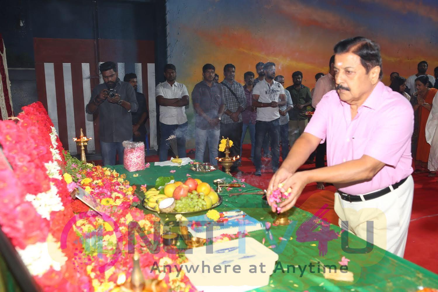Actress Jyothika Next Movie Pooja Photos Tamil Gallery