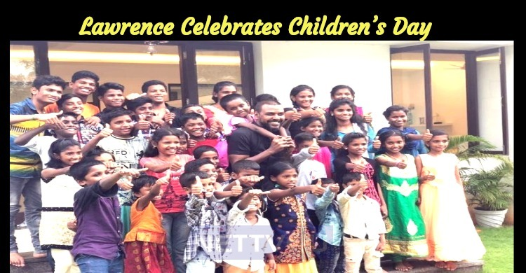 Lawrence Celebrates The Children's Day With Kids!