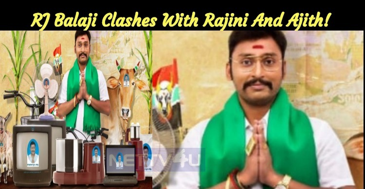 RJ Balaji To Clash With Thalaivar And Thala!