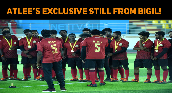 Atlee Releases An Exclusive Still From Bigil!