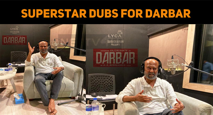 Superstar Dubs For Darbar!
