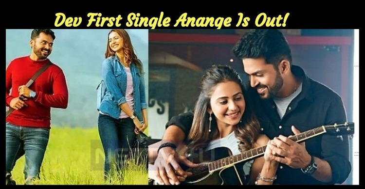 Dev First Single Anange Is Out!