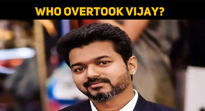 Look At The Stars Who Overtook Vijay!