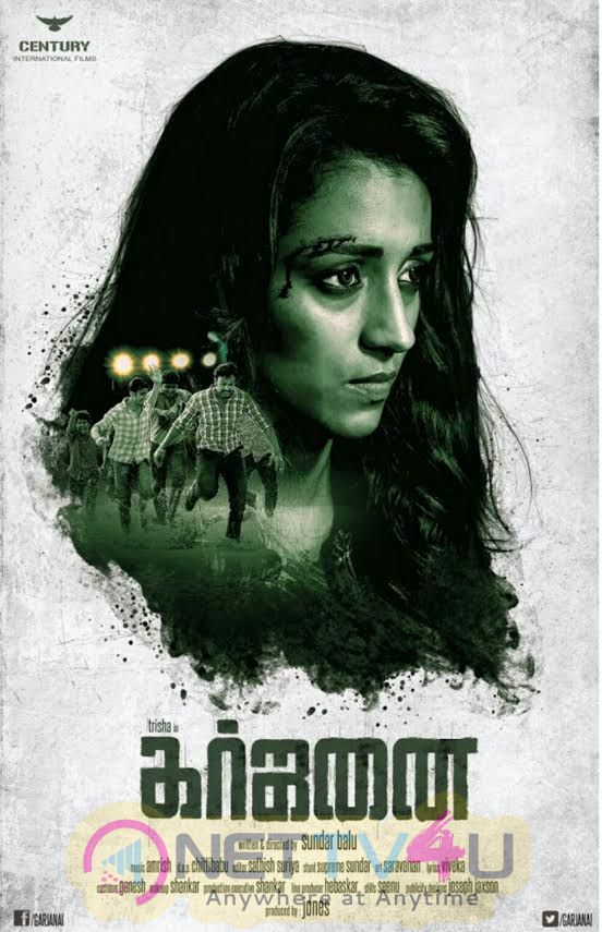 Garjanai Tamil Movie Good Looking Poster
