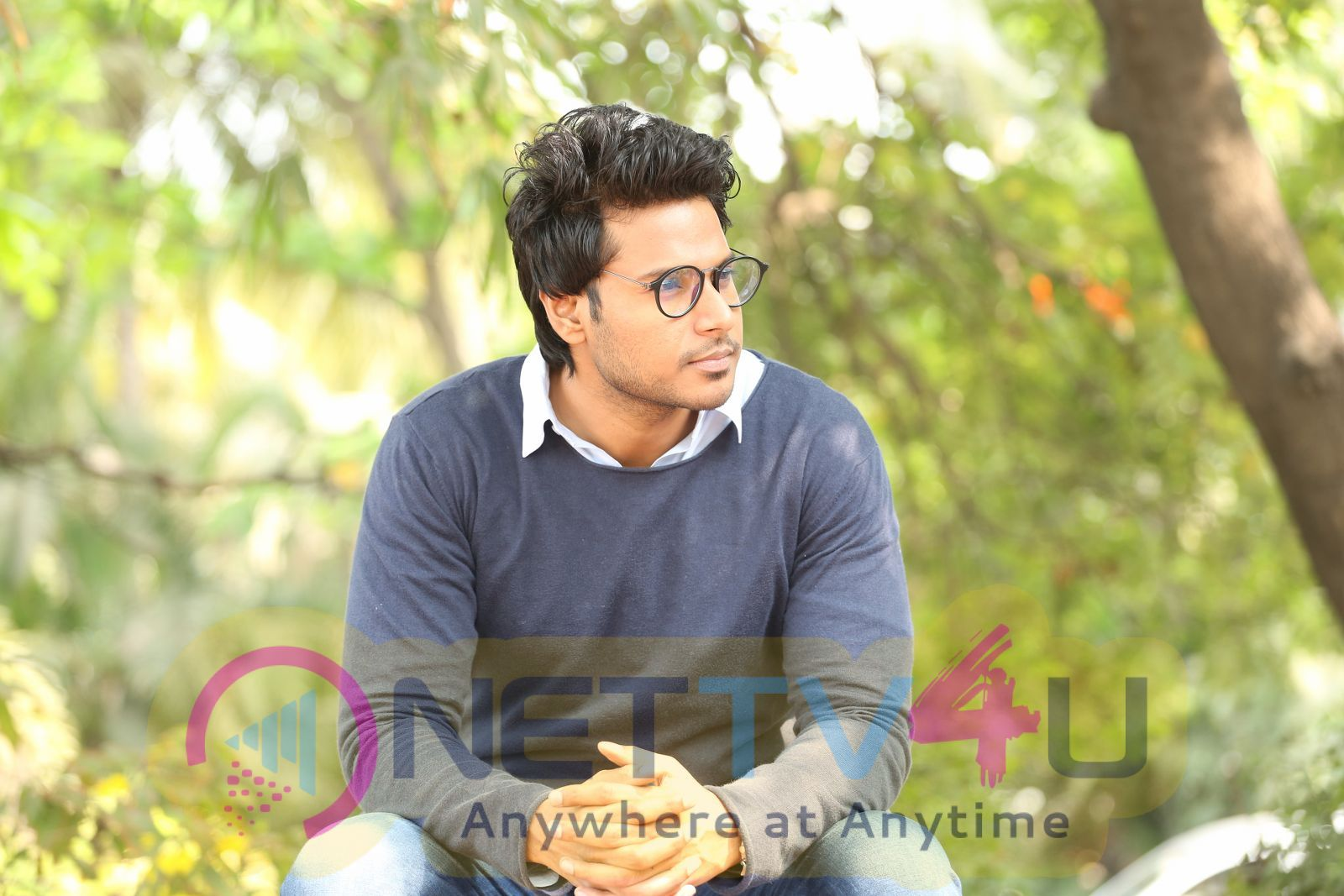Sundeep Kishan Interviiew Stills