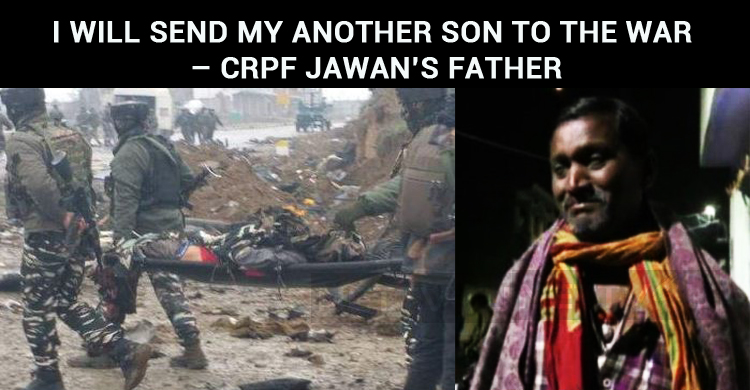 I Will Send My Another Son To The War – CRPF Jawan's Father