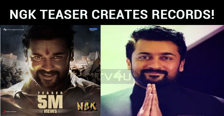 NGK Teaser Creates Records!
