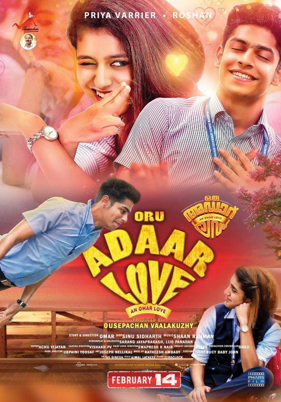 Oru Adaar Love Movie Review