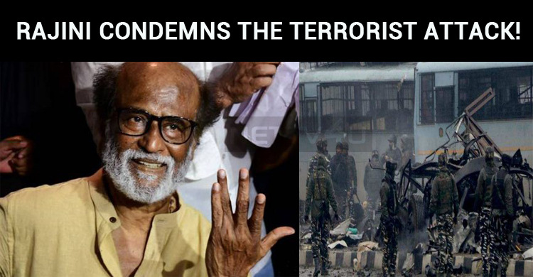 Rajini Condemns The Terrorist Attack!