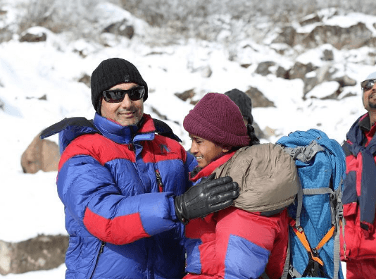 Rahul Bose Makes A Movie On Youngest Individual Scaling Mount Everest