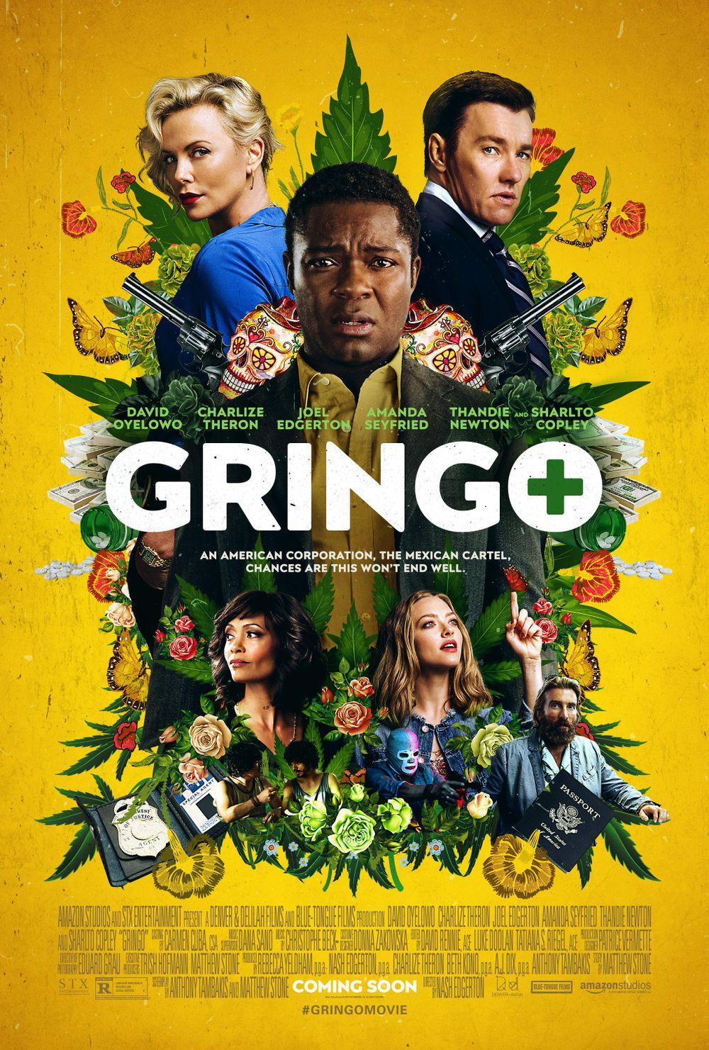 Gringo Movie Review English Movie Review