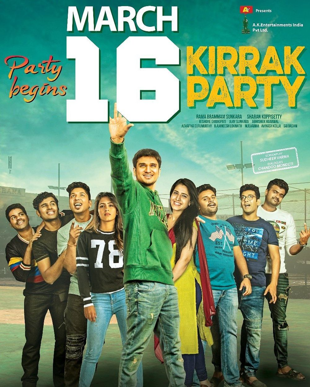 Kirrak Party Movie Review Telugu Movie Review