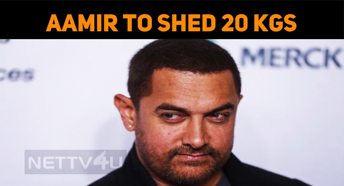 Aamir To Shed 20 Kgs For His Next!