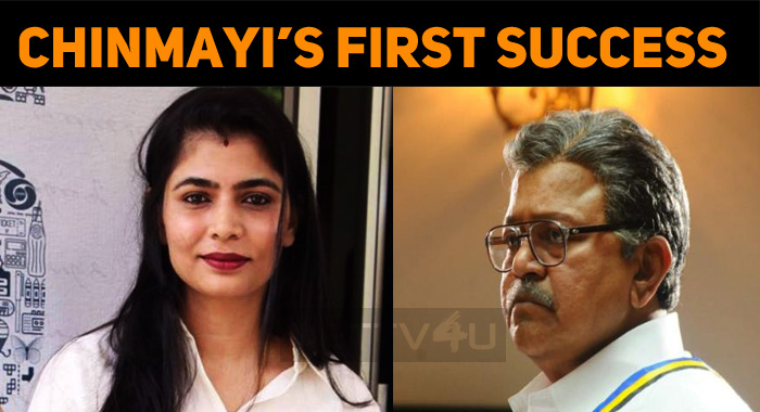Chinmayi Gets A Stay Order!