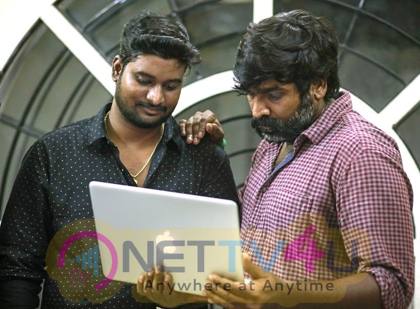 Adiye Azhage Tamil Movie First Look Poster Released By Vijay Sethupathi