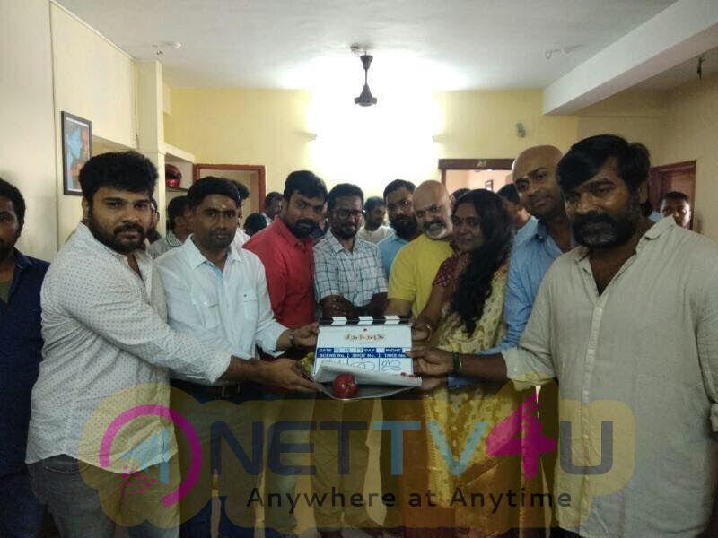 Seethakaathi Tamil Movie Pooja Stills