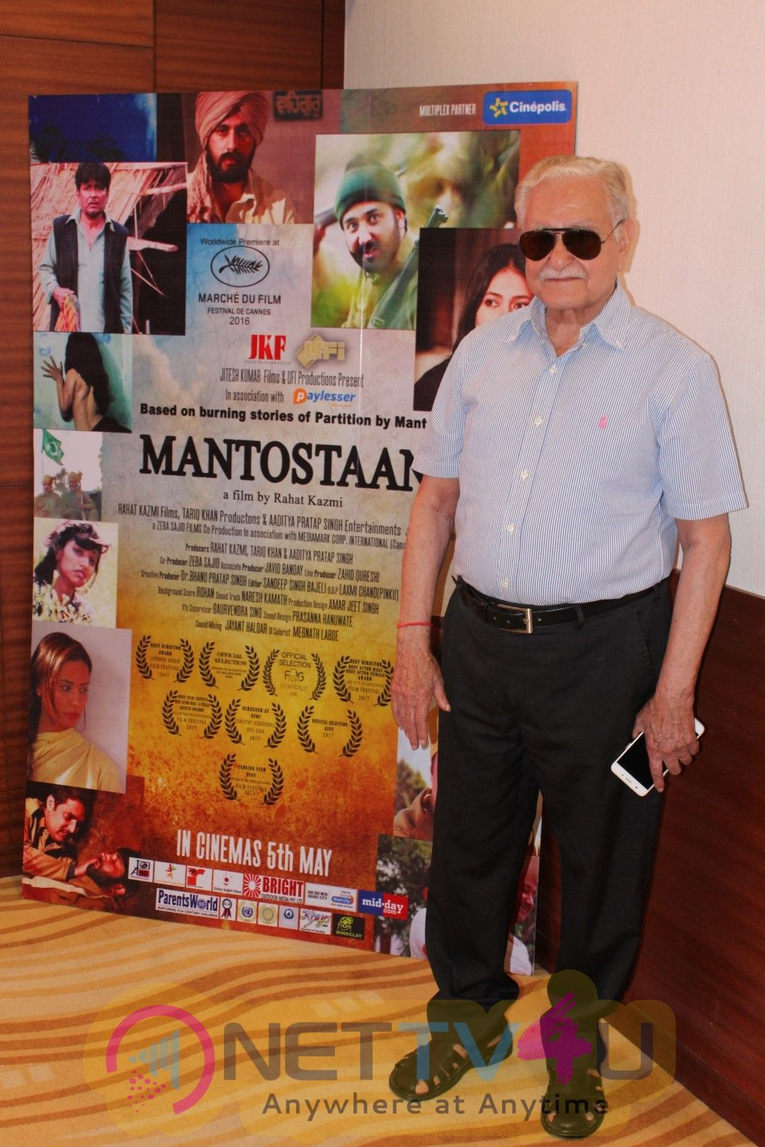 Sonal Sehgal At Trailer Launch Of Film Mantostaan Stills Hindi Gallery