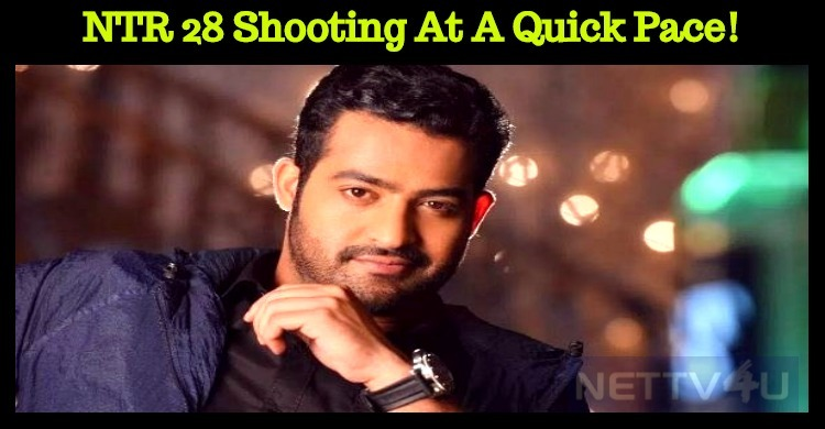 NTR 28 Shooting At A Quick Pace!
